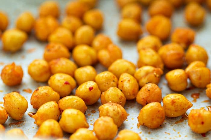 currently craving roasted chickpeas